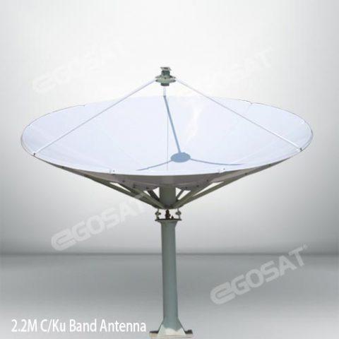 EGOSAT 2.2 meter TVRO antenna