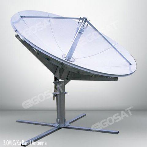 EGOSAT 3.0m c and ku band antenna