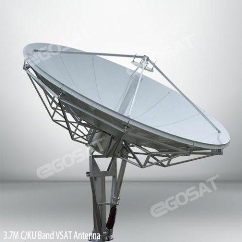 EGOSAT 3.7 meter vsat antenna