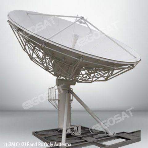 EGOSAT 11.3 m Rx only fixed antenna
