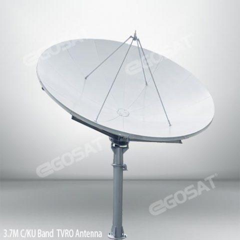 EGOSAT 3.7 meter TVRO antenna