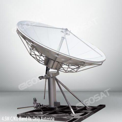EGOSAT 4.5 meter TVRO antenna