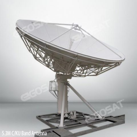 EGOSAT 5.3 meter fixed antenna