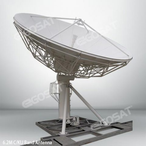 EGOSAT 6.2 meter fixed antenna
