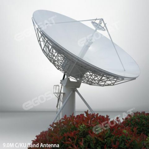 EGOSAT 9.0 meter fixed antenna
