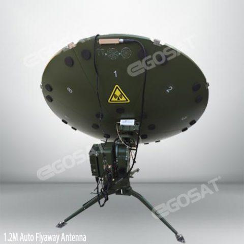 EGOSAT 1.2m auto flyaway antenna