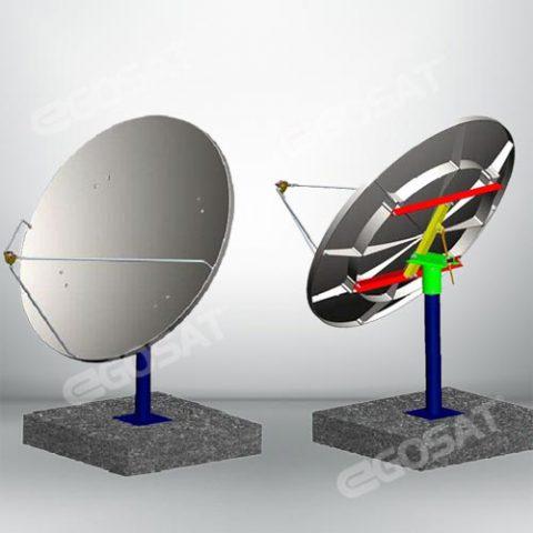EGOSAT 1.0 meter SMC TVRO antenna