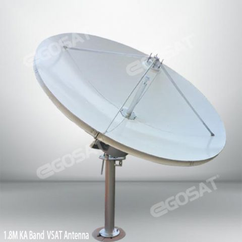 EGOSAT 1.8m ka band antenna