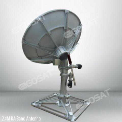 EGOSAT 2.4m ka-band vsat antenna