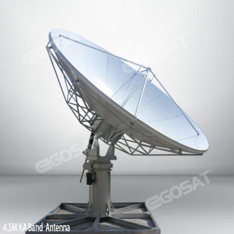 EGOSAT 4.5 meter 360 Degree Rotary vsat antenna