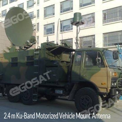 EGOSAT 2.4M SNG Antenna