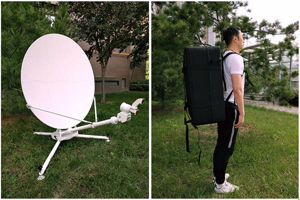 Earth Station Antenna | Flyaway Antenna | parabolic dish antenna